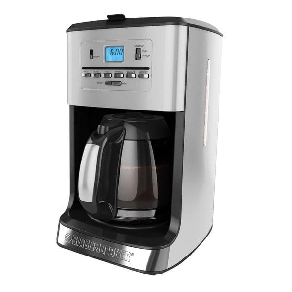 Black & Decker CM3005S 12-Cup Coffee & Tea Maker
