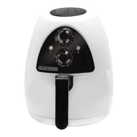 Black & Decker HF100WD White 2-Liter Air Fryer
