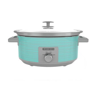 Black & Decker SC2007D Teal Wave 7-quart Slow Cooker