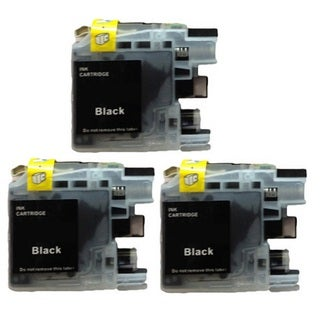 3-Pack Compatible Brother LC-101 MFCJ450DW MFCJ470DW MFCJ475DW MFCJ650DW MFCJ870DW MFCJ875DW MFCJ245 MFCJ285DW DCPJ152W Printers