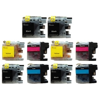 10-Pack Compatible Brother LC-101 LC101 Ink Cartridge MFCJ450 MFCJ470 MFCJ475 MFCJ650 MFCJ870 MFCJ875 MFCJ245 MFCJ285 DCPJ152
