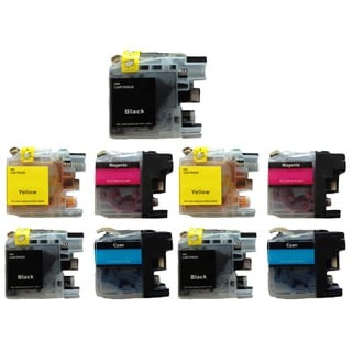 9-Pack Compatible Brother LC-101 LC101 Ink Cartridge For MFCJ450 MFCJ470 MFCJ475 MFCJ650 MFCJ870 MFCJ875 MFCJ245 MFCJ285 DCPJ152