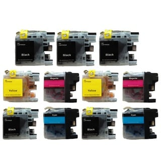 11Pack Compatible Brother LC-101 LC101 Ink Cartridge For MFCJ450 MFCJ470 MFCJ475 MFCJ650 MFCJ870 MFCJ875 MFCJ245 MFCJ285 DCPJ152