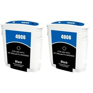 940 940XL C9406AN Ink Cartridge for HP OfficeJet Pro 8500 Premier Plus e-A910g A909n 8000 Enterprise A811a Pro 8000 (Pack of 2)