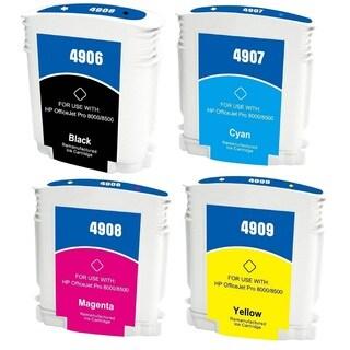 940 940XL Ink Cartridge Use for HP OfficeJet Pro 8500 Premier Plus e-A910g A909n 8000 Enterprise A811a Pro 8000 (Pack of 4)