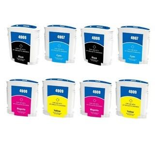 940 940XL Ink Cartridge Use for HP OfficeJet Pro 8500 Premier Plus e-A910g A909n 8000 Enterprise A811a Pro 8000 (Pack of 8)