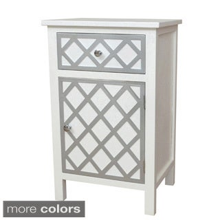 Gallerie Decor Trellis Accent Cabinet