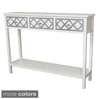 Gallerie Decor Trellis Console Table