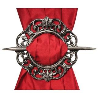 Antique Decorative Curtain Holdbacks (Set of 2)