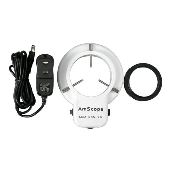 56 LED Microscope Ring Light with Dimmer