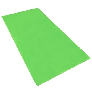 """KAUFMAN -Chubby Beach and Pool Towel Velour Solid Color 32""""x 62"""" Set of 2"""