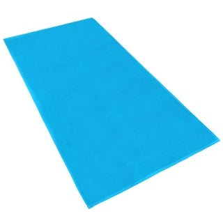 "Link to KAUFMAN -Chubby Beach and Pool Towel Velour Solid Color 32""x 62"" Set of 2 Similar Items in Towels"