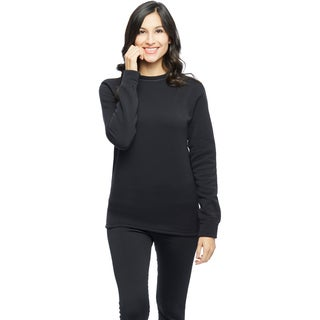 Ladies Powerstretch Fleece Crew Top