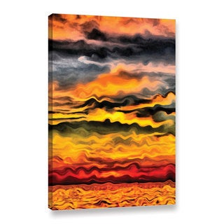 ArtWall Kevin Calkins ' Surreal Sunset ' Gallery-Wrapped Canvas