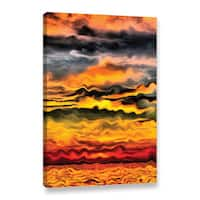 ArtWall Kevin Calkins ' Surreal Sunset ' Gallery-Wrapped Canvas - Multi