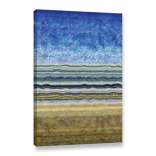 ArtWall Kevin Calkins ' Sky Water And Earth ' Gallery-Wrapped Canvas - Multi
