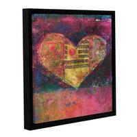 ArtWall Elena Ray 'Tantra Heart ' Gallery-Wrapped Floater-Framed Canvas - Multi