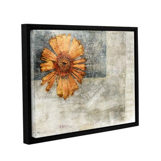 ArtWall Elena Ray ' Vintage Flower ' Gallery-Wrapped Floater-Framed Canvas