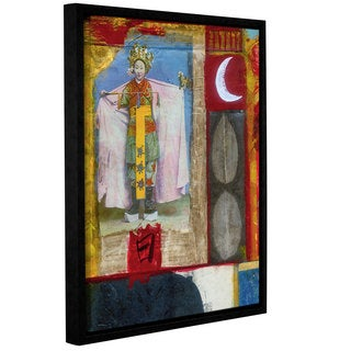 ArtWall Elena Ray ' Chinese Moon Queen ' Gallery-Wrapped Floater-Framed Canvas