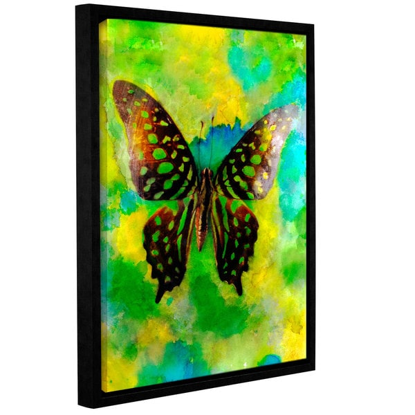 ArtWall Elena Ray ' Butterfly ' Gallery-Wrapped Floater-Framed Canvas