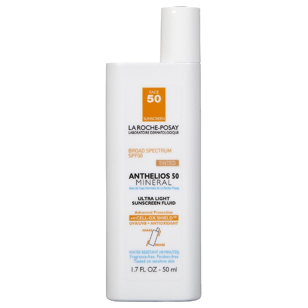 La Roche-Posay Anthelios 50 Mineral 1.7-ounce Tinted Ultra Light Sunscreen (Oil-Free Skin Care)
