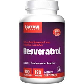 Jarrow Formulas Resveratrol 100 mg (120 Capsules)