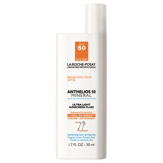 La Roche-Posay 1.7-ounce Anthelios 50 Mineral Ultra Light Untinted SPF 50 Sunscreen