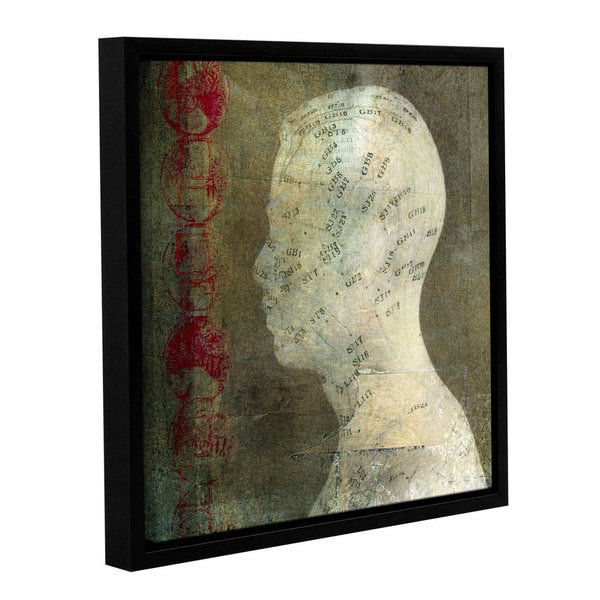 ArtWall Elena Ray ' Acupuncture ' Gallery-Wrapped Floater-Framed Canvas