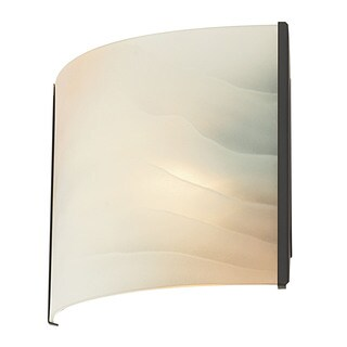 Cornerstone Brown Oil Rubbed Bronze/ Honey Alabaster Glass 1-light Sconce