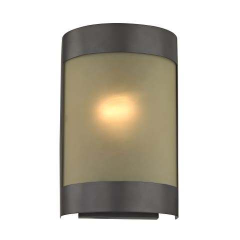 Cornerstone 6.5-inch Brown Oil Rubbed Bronze 1-light Wall Sconce