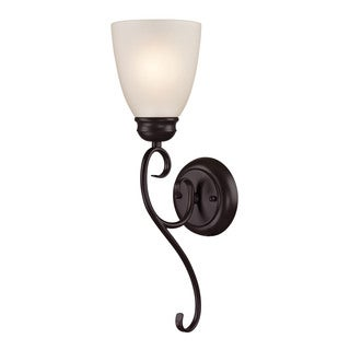 Cornerstone Brown Oil Rubbed Bronze Chatham 1-light Sconce