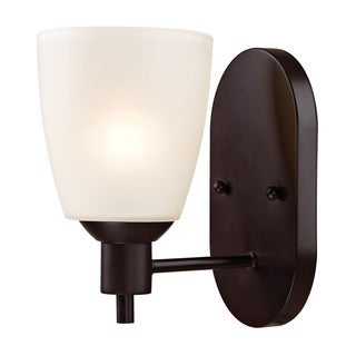 Cornerstone Brown Oil Rubbed Bronze Jackson 1-light Sconce