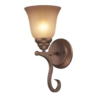 Cornerstone Brown Mocha Lawrenceville 1-light Sconce