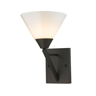 Cornerstone Brown Oil-rubbed Bronze Finish 1-light Wall Sconce - 60 W Medium - (As Is Item)
