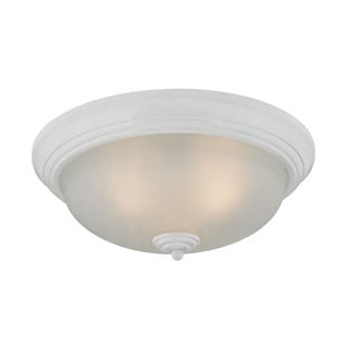 Cornerstone 3 Light Flush Mount In White