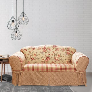 Sure Fit Lexington One-piece T-cushion Sofa Slipcover