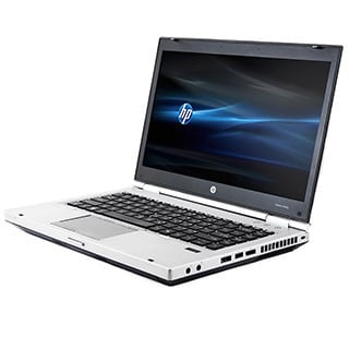 HP Elitebook 8460P Intel Core i3-2310M 2.1GHz 2nd Gen CPU 4GB RAM 128GB SSD Windows 10 Pro 14-inch Laptop (Refurbished)