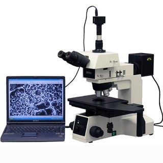 50X-2500X Bright and Darkfield Polarizing Metallurgical Microscope with 10MP Camera