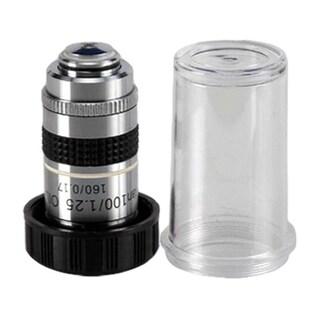 100X (Oil) Darkfield Microscope Plan Objective with Iris