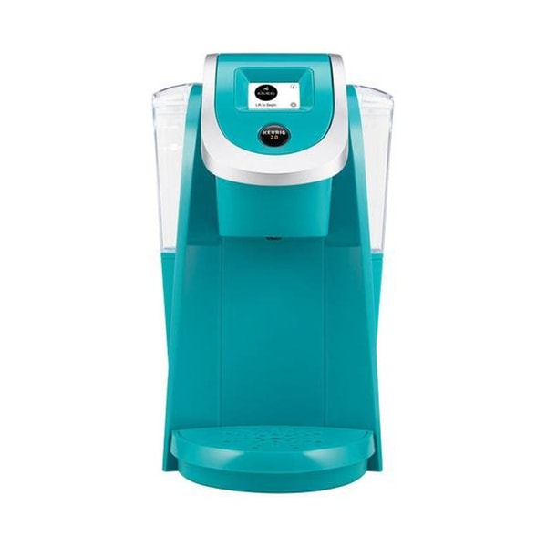 Coffee Maker With K Cup K250 Keurig 2.0 Brewer - Teal - Free Shipping Today ...