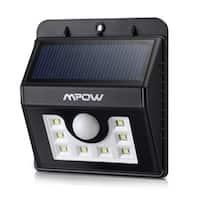 Mpow Solar Powerd Light Wireless LED Security Motion Sensor Light