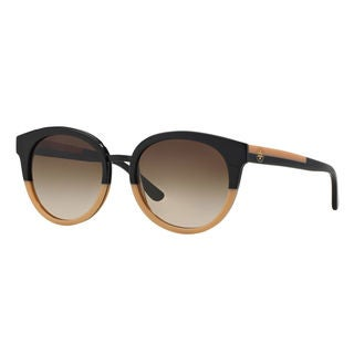 Tory Burch Women's TY7062 Phantos Brown Gradient Sunglasses