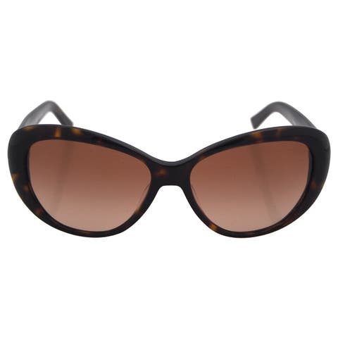 Tory Burch Women's TY7005 510/8 Tortoise Brown Plastic Cat Eye Sunglasses