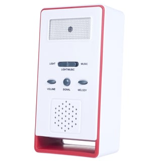 Stalwart Wireless Remote Doorbell with Push Button and 36 Chime Options