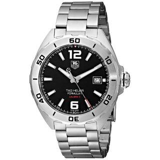 Tag Heuer Men's WAZ2113.BA0875 'Formula 1' Silver Stainless steel Watch