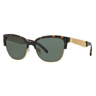 Tory Burch Women's TY6032 Rectangle Sunglasses