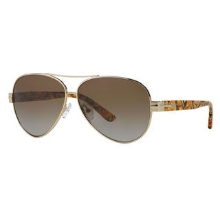 Tory Burch Women's TY6031 Pilot Sunglasses