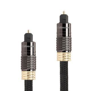 BasAcc 6-feet Black/Gold Digital Optical Audio TosLink Cable with Metal Connectors/ Braided Nylon Jacket|https://ak1.ostkcdn.com/images/products/10237999/P17358151.jpg?_ostk_perf_=percv&impolicy=medium