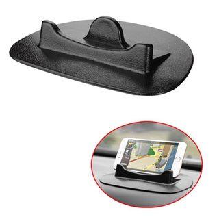 Insten Universal Black Silicone Car Stand 7.87x5.87x1.54-inch