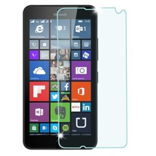 Insten Clear Tempered Glass LCD Screen Protector Film Cover For Microsoft Lumia 640